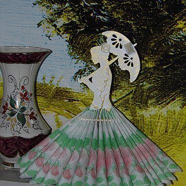 """Для дома и интерьера ручной работы. Ярмарка Мастеров - ручная работа Салфетница: """"Софи"""". Handmade."""