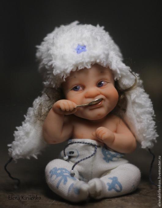 """Коллекционные куклы ручной работы. Ярмарка Мастеров - ручная работа. Купить """"Филиппок"""". Handmade. Белый"""