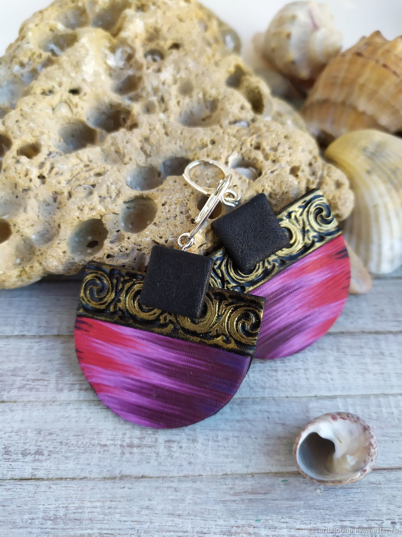 Handmade ETHNO earrings, Earrings, Zelenograd,  Фото №1