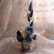 """Сувениры и подарки ручной работы. Ярмарка Мастеров - ручная работа Букет из конфет """"Морской бриз"""". Handmade."""