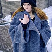 """Одежда ручной работы. Ярмарка Мастеров - ручная работа Пальто- кокон """"Street-fashion"""". Look1. Handmade."""