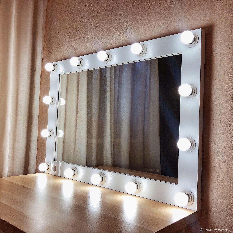 стиле модные лампочки на зеркало фото данной