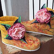 Обувь ручной работы handmade. Livemaster - original item Slippers valenochki