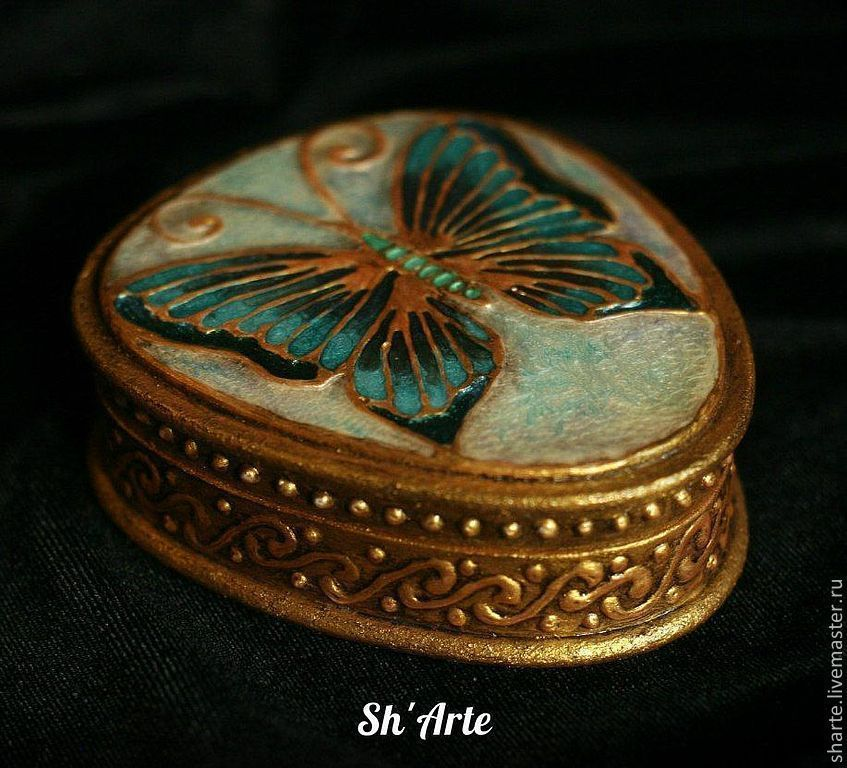 Box Butterfly art Nouveau, Box, Moscow,  Фото №1