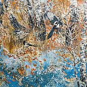 Картины ручной работы. Ярмарка Мастеров - ручная работа Сороки. Осень.. Handmade.
