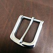 Ремни ручной работы. Ярмарка Мастеров - ручная работа Пряжка литая нержавеющая сталь 30мм. Handmade.