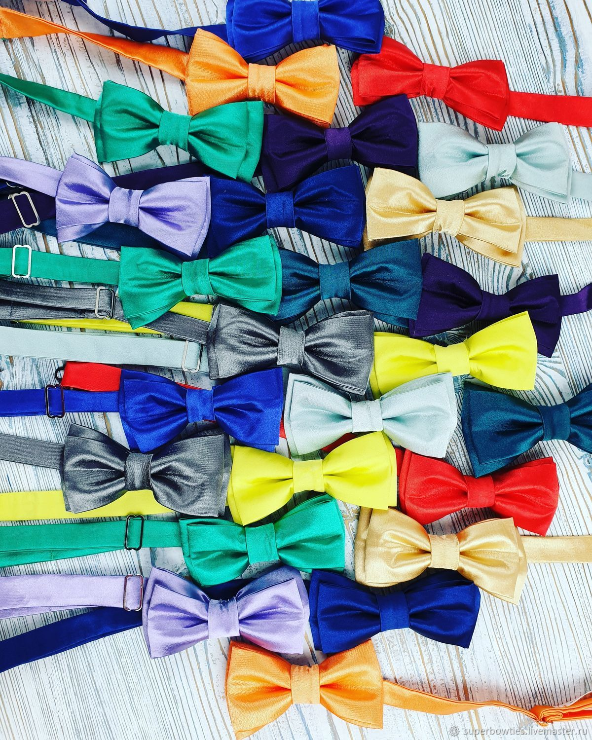 Satin baby butterflies, Ties, Moscow,  Фото №1