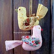 Для дома и интерьера ручной работы. Ярмарка Мастеров - ручная работа Текстильные птички. Handmade.