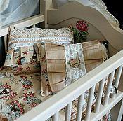 Куклы и игрушки ручной работы. Ярмарка Мастеров - ручная работа кроватка для кукол реборн. Handmade.