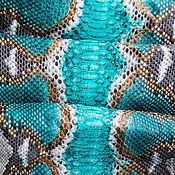 Материалы для творчества handmade. Livemaster - original item Genuine leather Python. Handmade.