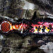 Русский стиль ручной работы. Ярмарка Мастеров - ручная работа Ножны для ножа. Handmade.