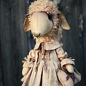 Куклы и игрушки ручной работы. Ярмарка Мастеров - ручная работа Овечка.. Handmade.