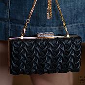 Сумки и аксессуары handmade. Livemaster - original item Leather clutch Bourbon black. Handmade.