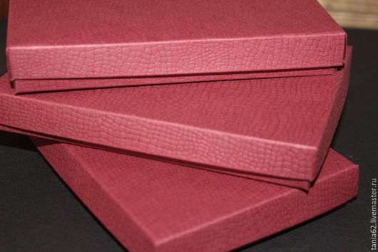 Упаковка ручной работы. Ярмарка Мастеров - ручная работа. Купить Коробочки 14,5-10-2 см( для паспорта, под кожу). Handmade.