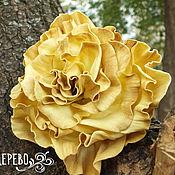 Украшения ручной работы. Ярмарка Мастеров - ручная работа Осенняя роза. Handmade.