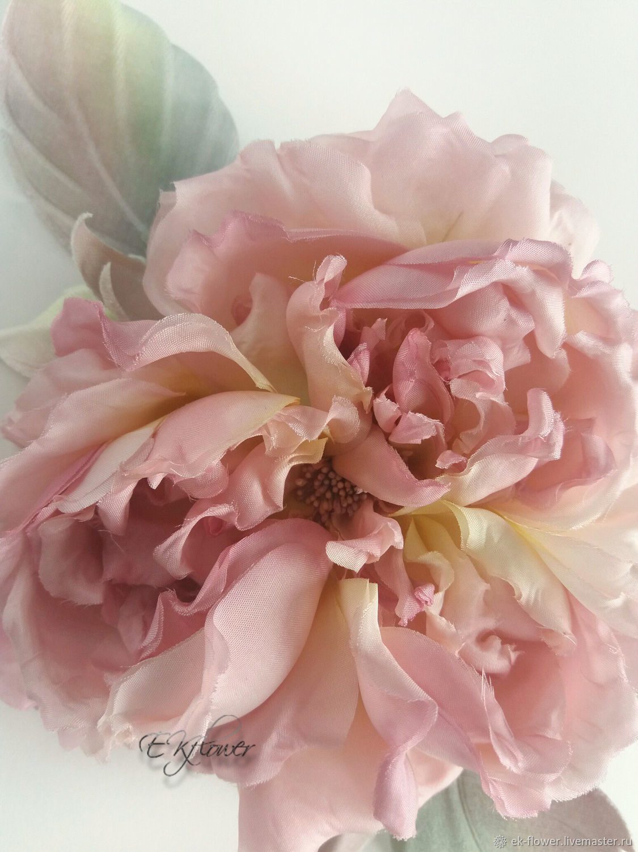 Silk Flowers Rose Silk Brooch French Chic Shop Online On