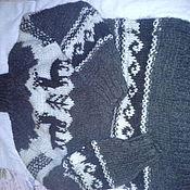 Одежда ручной работы. Ярмарка Мастеров - ручная работа свитер шерстяной. Handmade.