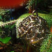 Сувениры и подарки handmade. Livemaster - original item Bell - Christmas ball Gold. Handmade.