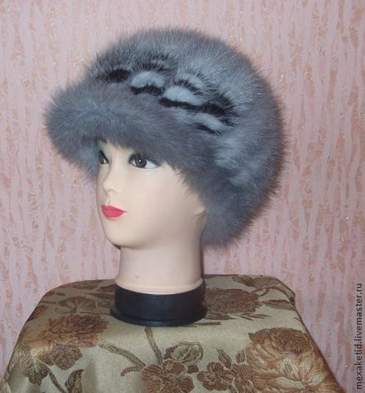 Шапки ручной работы. Ярмарка Мастеров - ручная работа. Купить Меховая шапка.Шапка женская.Зимняя шапка. Handmade.