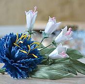 Украшения handmade. Livemaster - original item Fabric flowers