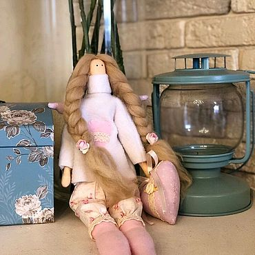 """Куклы и игрушки ручной работы. Ярмарка Мастеров - ручная работа Тильда ангел """"Ариша"""". Handmade."""