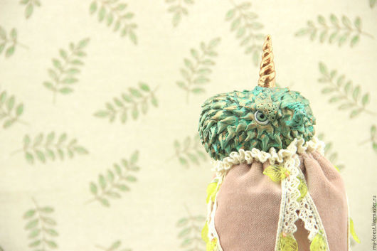 """Сказочные персонажи ручной работы. Ярмарка Мастеров - ручная работа. Купить Маротте """"Лесной единорог"""". Handmade. Авторская кукла, подарок на"""