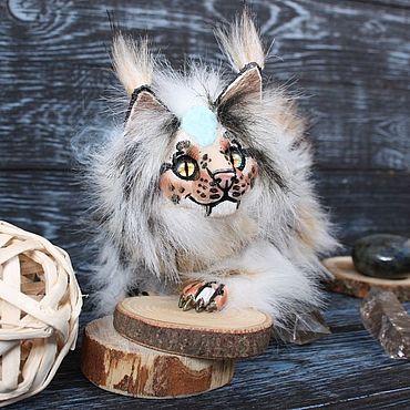 Dolls & toys handmade. Livemaster - original item Toys: Guardian, smilodon Yumi No Otho. Handmade.