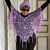 Одежда handmade. Livemaster - original item Poncho crocheted Gossamer.. Handmade.
