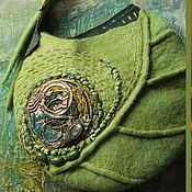"""Сумки и аксессуары ручной работы. Ярмарка Мастеров - ручная работа """"Meаn Earraigh"""" сумка валяная. Handmade."""
