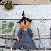Куклы и игрушки ручной работы. Ярмарка Мастеров - ручная работа Тыква маленькая. Handmade.