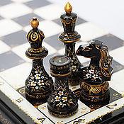 Сувениры и подарки ручной работы. Ярмарка Мастеров - ручная работа Оригинальный подарок шахматы большие Чёрная королева. Handmade.