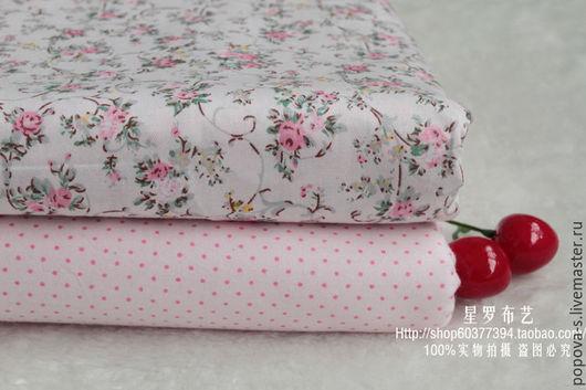 Шитье ручной работы. Ярмарка Мастеров - ручная работа. Купить Набор ткани в розовых тонах. Handmade. Бледно-розовый, для игрушек