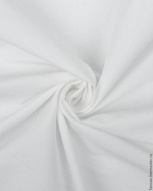 Шитье ручной работы. Ярмарка Мастеров - ручная работа. Купить Бенгалин стрейч. Handmade. Белый, белая блузка, одежда из хлопка