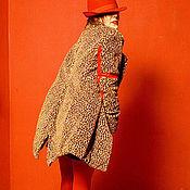 Одежда ручной работы. Ярмарка Мастеров - ручная работа Шуба Leopard. Handmade.