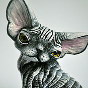 Для дома и интерьера handmade. Livemaster - original item Eli. Cat Devon Rex.. Handmade.