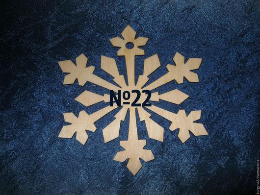 Декупаж и роспись ручной работы. Ярмарка Мастеров - ручная работа. Купить подвеска новогодняя №22 снежинка. Handmade. Белый, снежинка