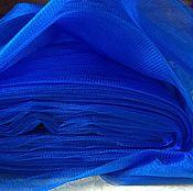 Материалы для творчества ручной работы. Ярмарка Мастеров - ручная работа фатин синий. Handmade.