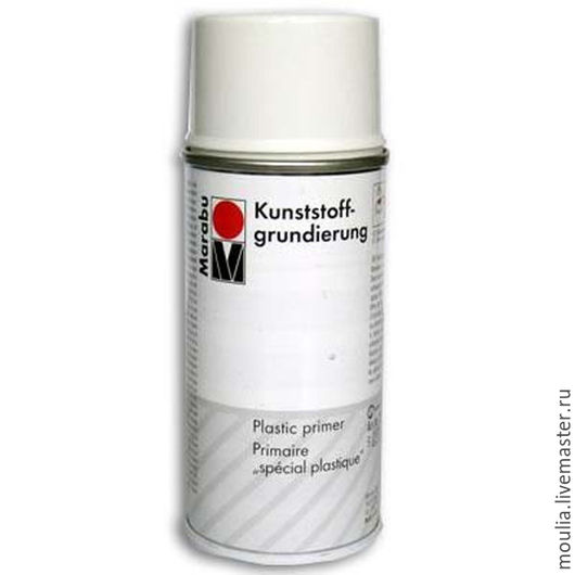 Грунт аэрозольный для пластика Marabu-Plastic Primer 150 мл арт 231006891  1/0