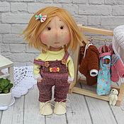 Текстильная кукла купить .Кукла игровая.