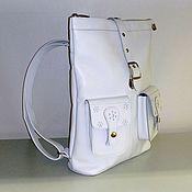 Сумки и аксессуары handmade. Livemaster - original item Backpack leather 73B. Handmade.