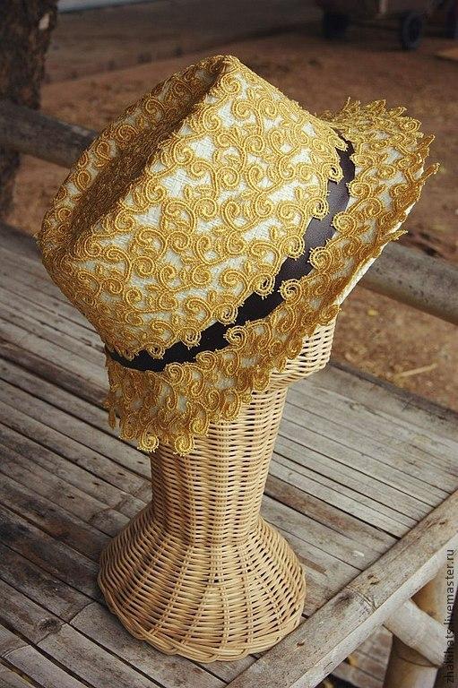 "Шляпа федора ""Lemon"", Шляпы, Санкт-Петербург, Фото №1"