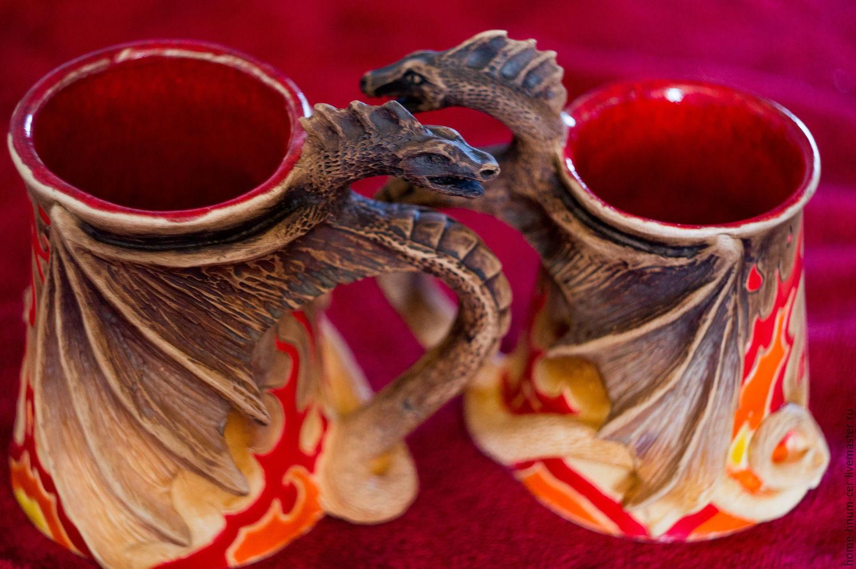 Mug `Flame of eternity` Master Evgeniy Isaev