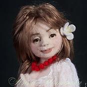 Куклы и игрушки ручной работы. Ярмарка Мастеров - ручная работа Авторская войлочная кукла Олеся. Handmade.