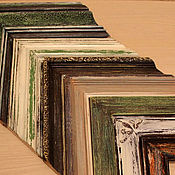 Сувениры и подарки ручной работы. Ярмарка Мастеров - ручная работа Деревянный багет и рама для картины,зеркала,вышивки или фото. Handmade.