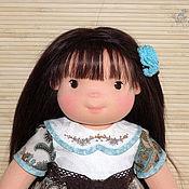 Куклы и игрушки ручной работы. Ярмарка Мастеров - ручная работа Лилу - кукла в вальдорфском стиле. Handmade.
