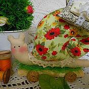 Куклы и игрушки ручной работы. Ярмарка Мастеров - ручная работа Тильда улитка. Handmade.