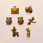 Материалы для творчества handmade. Livemaster - original item metal pendant. Handmade.