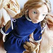 Куклы и игрушки ручной работы. Ярмарка Мастеров - ручная работа Ляля. Всем, носившим косы, посвящается.. Handmade.
