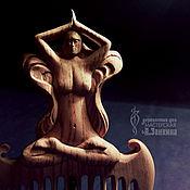 Гребень ручной работы. Ярмарка Мастеров - ручная работа Деревянный гребень Асана. Handmade.