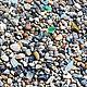 Минералы, друза ручной работы. Ярмарка Мастеров - ручная работа. Купить Крупный галечный песок. (250 г). Handmade. Комбинированный